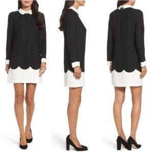 CeCe by Cynthia Steffe Jada Scallop Shirtdress